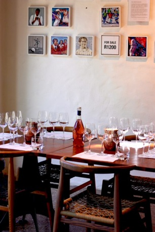 Art and wine at Spier